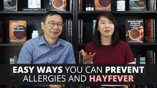 Easy Ways You Can Prevent Allergies and Hayfever